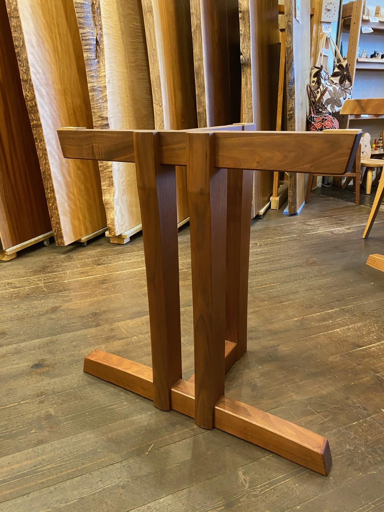 テーブル脚(置き脚タイプ)